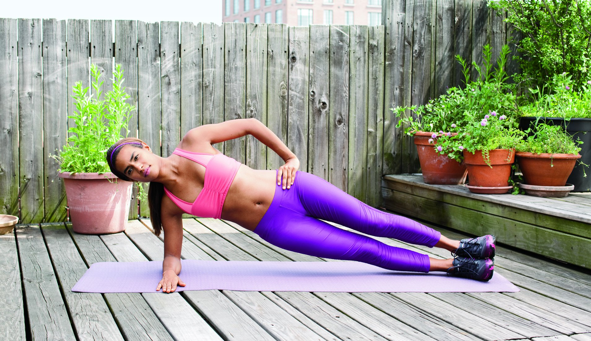 exercise to reduce belly fat in a week