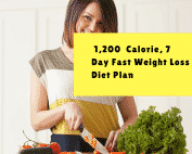 7 day diet plan for fast weight loss