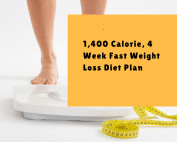 4 week fast weight loss diet plan